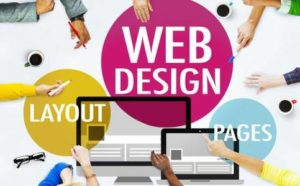 design of a website