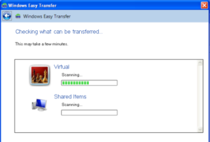 Steps to migrate operating system Windows XP to Windows 7