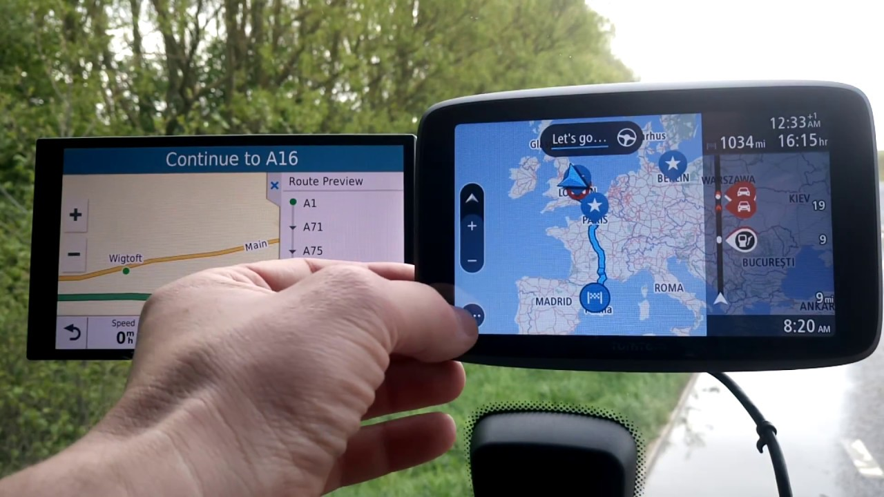 Navigation system TomTom Go extended with new features